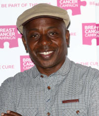 Vas Blackwood at the Breast Cancer Campaign Launch party in London.