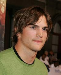Ashton Kutcher at the 2nd Annual Rollin' 24 Deep: GM All-Car Showdown.
