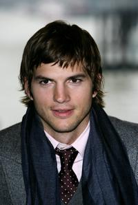 Ashton Kutcher at the photocall to promote