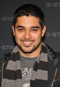 Wilmer Valderrama at the G Star Fall 2008 fashion show during the Mercedes-Benz Fashion Week Fall 2008.