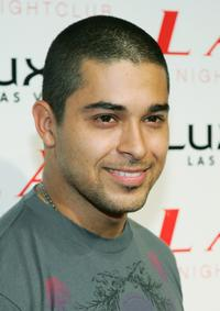 Wilmer Valderrama at the grand opening of the LAX Nightclub.
