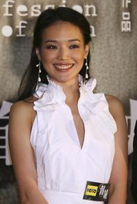 Shu Qi at the premiere of