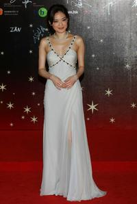 Shu Qi at the 26th Hong Kong Film Awards.