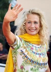 Brigitte Fossey at the premiere