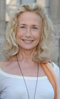 Brigitte Fossey at the reception of