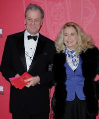 Brigitte Fossey and Guest at the Cesar Film Awards 2009.