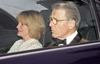 Edward Fox at Camilla Duchess of Cornwall's 60th birthday party.