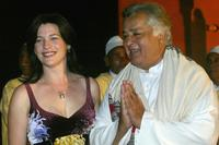 Kerry Fox and Shashi Kapoor at the opening of third Marrakech Film Festival.