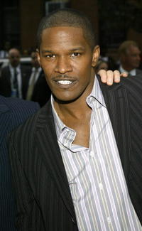 Jamie Foxx at the premiere of