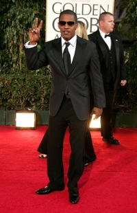 Jamie Foxx at the 64th Annual Golden Globe Awards.