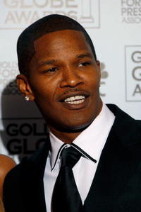 Jamie Foxx at the Golden Globe Awards.
