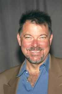 Jonathan Frakes at the announcement of United Paramount Network's (UPN) 2002-2003 primetime schedule of series.