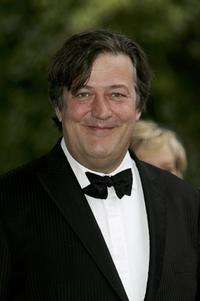 Stephen Fry at the fundraising event