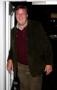 Stephen Fry at the VIP screening of