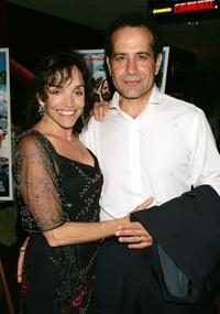Brooke Adams and Tony Shalhoub at the premiere of
