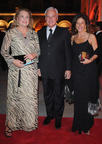 Ira Furstenberg, Clio Goldsmith and guest at the gala dinner of Cartier