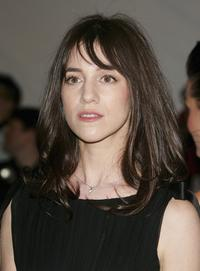 Charlotte Gainsbourg at the Metropolitan Museum of Art Costume Institute Benefit Gala