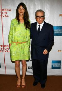 Charlotte Gainsbourg and Director Martin Scorsese at the premiere of
