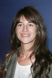 Charlotte Gainsbourg at the premiere of ''Spider-Man 3''.