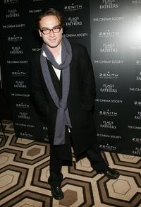 Johnny Galecki at the Cinema Society & Zenith Watches screening of