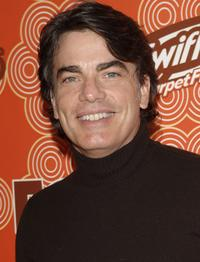 Peter Gallagher at the FOX Fall Casino Party.