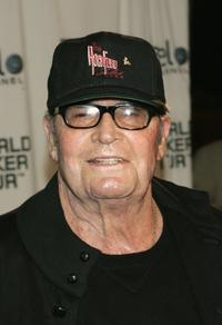 James Garner at the World Poker Tour Invitational at the Commerce Casino.