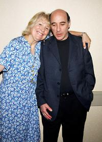 Teri Garr and comedian Jonathan Katz at the speaking that is doing on living and working with Multiple Sclerosis with other MS people.