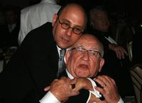 Ed Asner and Stanford Blatch at the Norby Walters' 16th Annual Night Of 100 Stars Oscar Gala.