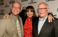 Ed Asner, Gavin McLeod and Valerie Harper at the celebration for Cloris Leachman's 60 years in show business.