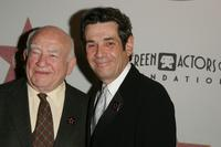 Ed Asner and Alan Rosenberg at the Award Of Excellence Star presentation.