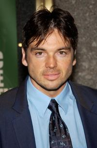 Jason Gedrick at the preview of NBC's 2002-2003 prime time schedule.
