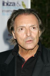 Armand Assante at the Atzaro party at the first Ibiza and Formentera Film Festival, to promote his new film