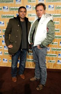 Armand Assante and Esai Morales at the Entertainment Weekly's Sundance Party.
