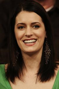 Paget Brewster at the Showtime Networks segment of the Television Critics Association Winter Press Tour panel discussion.