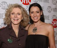 Blythe Danner and Paget Brewster at the premiere of