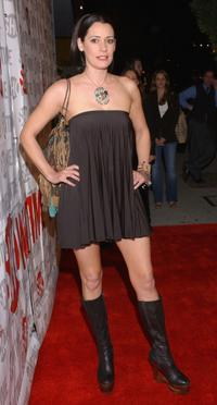 Paget Brewster at the premiere of