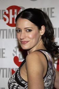 Paget Brewster at the screening of
