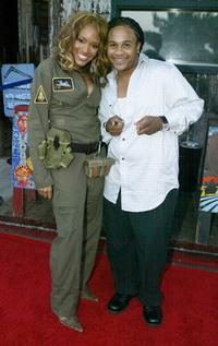 Drew Sidora and Orlando Brown at the