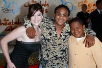 Anneliese van der Pol, Orlando Brown and Kyle Orlando Massey at the premiere of