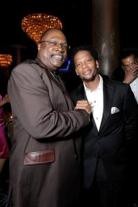 Reverend Wendell Anthony and D.L. Hughley at the 39th NAACP Image Awards.