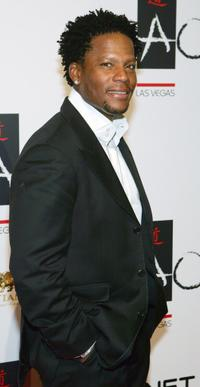D.L. Hughley at the clubs one-year anniversary party.