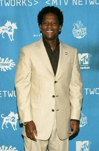 D.L. Hughley at the MTV Networks Upfront.