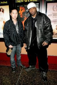 Ken Leung and Treach at the screening of