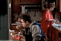 Patton Oswalt as Paul and Marcia Jean Kurtz as Paul's mother in