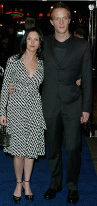 Dervia Kirwan and Rupert Penry-Jones at the premiere of