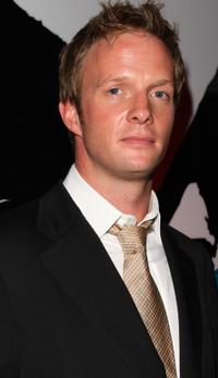 Rupert Penry-Jones at the Kuro Black Screen party.