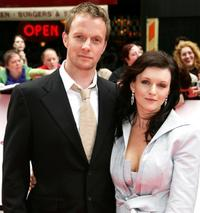 Rupert Penry-Jones and Dervla Kirwan at the British Academy Television Awards.