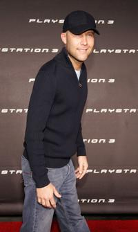 Michael Rosenbaum at the Launch Party of Sony Computer Entertainment America Playstation 3.