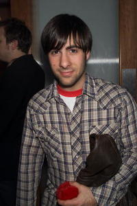 Jason Schwartzman at the 'Flea-For-All' after party in New York City.