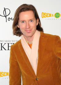 Wes Anderson at the New York premiere of